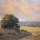 """California's Evening Rose"" by Linda Mutti - Pastel, $895"