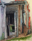 """Door #1"" by Duane Anderson - Watercolor, $425"