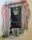 """Door #2"" by Duane Anderson - Watercolor, $425"