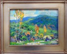"""View from Highway 46"" by Karl Dempwolf - Oil, $3500"