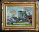 """Watch Tower"" by Karl Dempwolf - Oil, $3500"