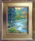 """Still Waters"" by Karl Dempwolf - Oil, $2800"