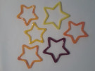 Star Ornaments by Kelly Johnson - Glass