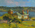 """Mendocino Afternoon"" by Ann Larsen - 8""x10"" Oil, $800"