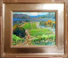 """Barbera Vines"" by Karl Dempwolf - Oil, $2800"
