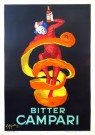 """Bitter Campari"" by Leonetto Cappiello, 1921 – 39"" x 27.25"", price upon request"