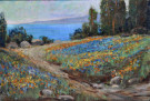 """Landscape, Flower Fields"" by Benjamin Brown"