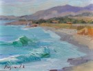 """Cambria Afternoon"" by Camille Przewodek - Oil, $1700"