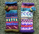 Fairisle Gloves by Rose Ann Martin - Knitwear