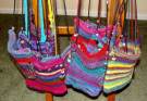 Felted Purses by Rose Ann Martin - Felting