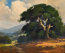 """Shadow of an Oak"" by Percy Gray"