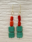 Earrings by Julie Mellor