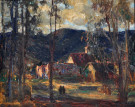 """Evening Light, Laguna"" by Joseph Kleitsch"