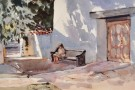 """San Miguel Shade"" by Mike Kowalski - Watercolor, $800"