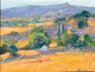 """View From Adelaida Road"" by Ann Larsen - Oil, $400"