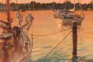 """Sunset on St Michaels"" by Sergio Lopez - Oil, $2400"