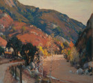 """A Canyon in Autumn"" by Alfred Mitchell"