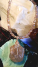 """Moonstone Necklace"" by Julie Parker, PasoJules - Moonstone Beach Jewelry"