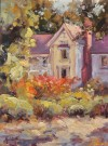 """The Victorian At Halter Ranch Winery"" by Kristen Olson - Oil, $1900"