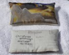 """Female Buddha Postcard Lavender Sachet"" by Pam Langfeldt - Photograph printed on silk, $20"