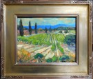 """Paso Vines"" by Karl Dempwolf - Oil, $2800"