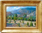 """Piru Orchard"" by Karl Dempwolf - 13""x18"" Oil, $4200"