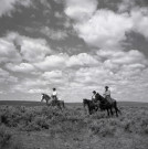 """The Outriders, IL Ranch, NV"" by Adam Jahiel - Silver Gelatin Print, $900"
