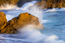 """Waves, Rocks, Moonstone Beach"" by Kerry Drager"