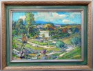 """Canyon Country Where We Painted"" by Karl Dempwolf - Oil, $7500"