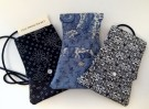 """Mini Travel Purses"" by Pat Leece - Fabric, $35"