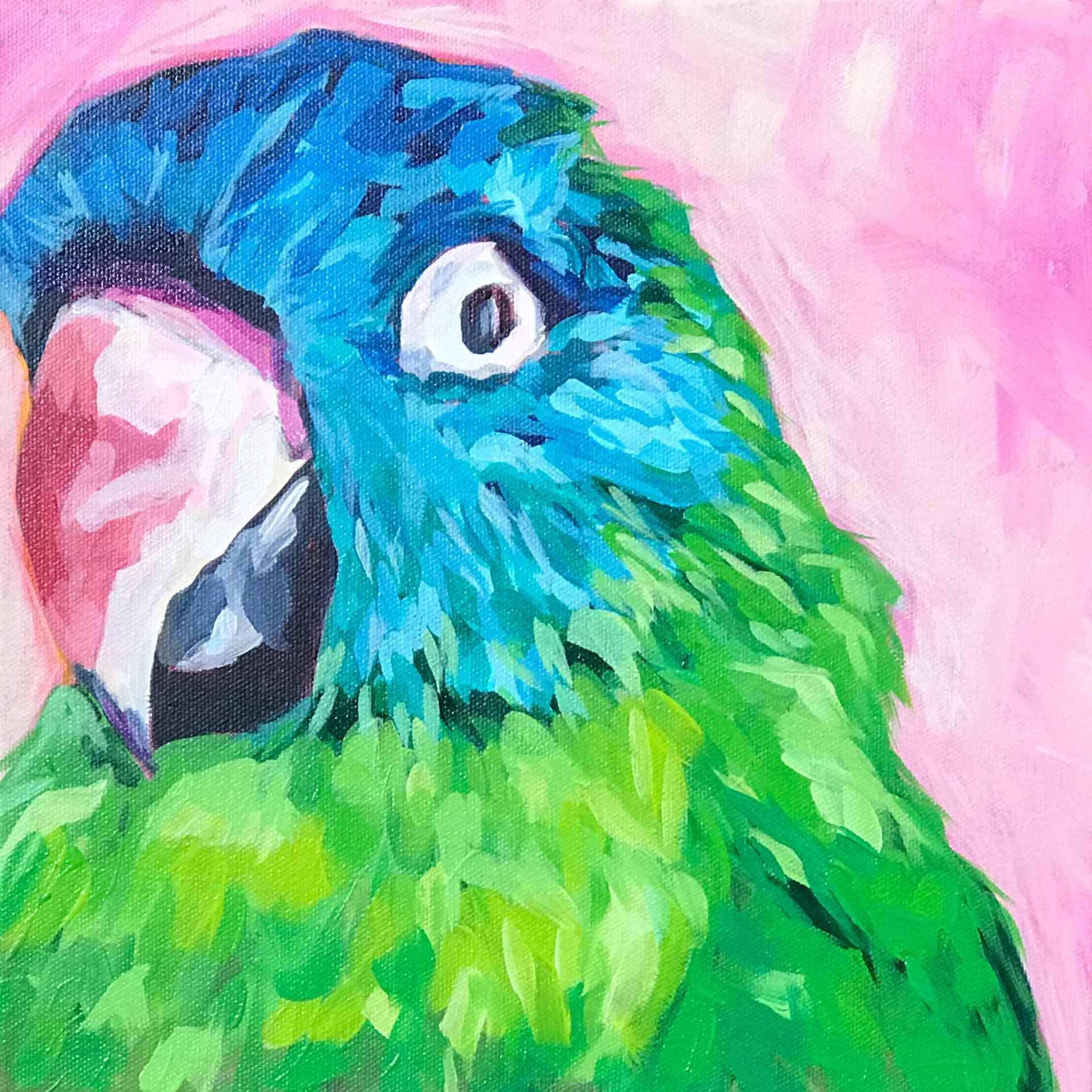 Karyn Blaney painting